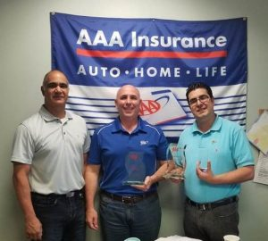 AAA Recognizes Top Insurance Agents