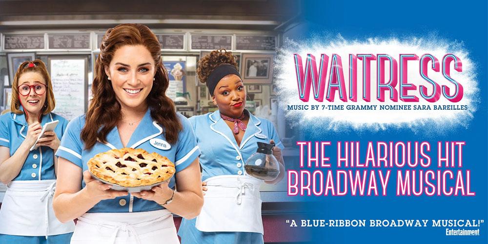 Broadway in Scranton to Show Waitress in 2021