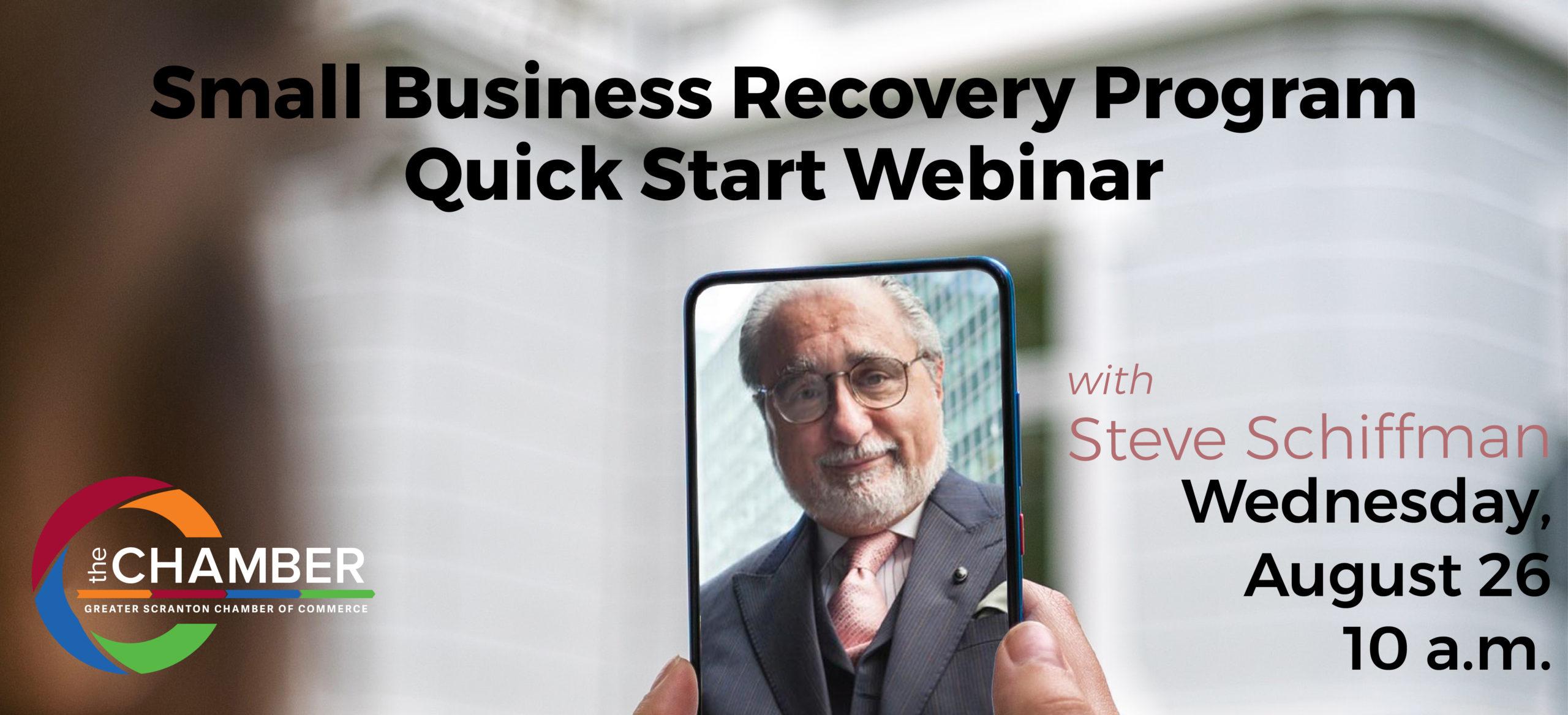 Small Business Recovery Program - Quick Start Webinar