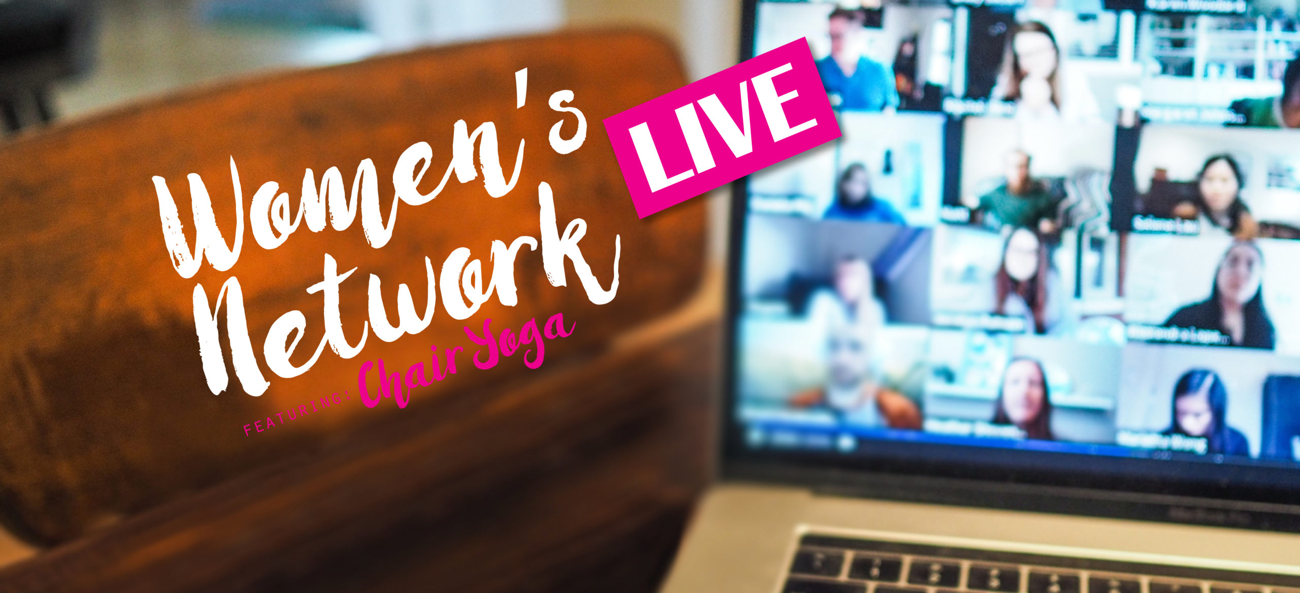 Women's Network LIVE: Featuring Chair Yoga