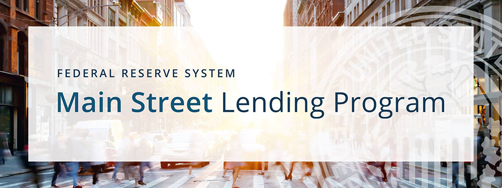 Main Street Lending Program from the Federal Reserve