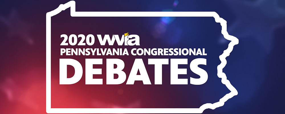 2020 Congressional Debates to Broadcast Live from WVIA