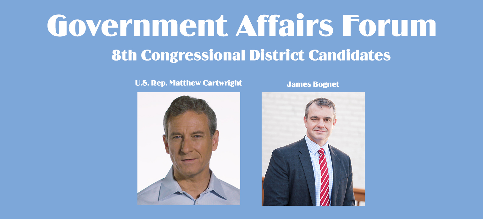 Scranton Chamber Hosts Government Affairs Forum for 8th Congressional District