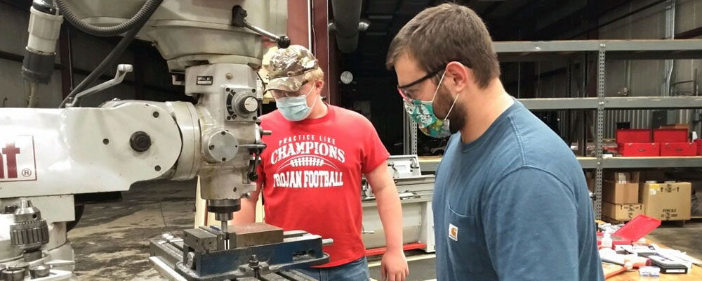 Johnson College in Conjunction with Don's Machine Shop are Now Enrolling Students in CNC Machining Training