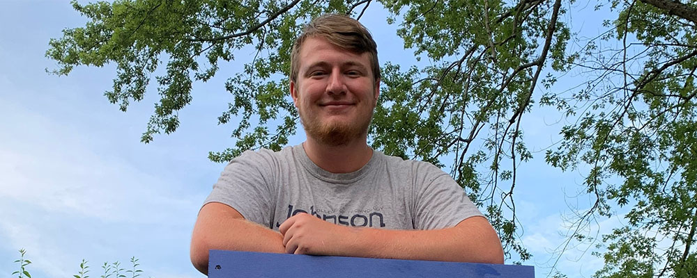 Johnson College Student, Cody Fisher, Receives a 2020 Work Ethic Scholarship from the Mike Rowe WORKS Foundation