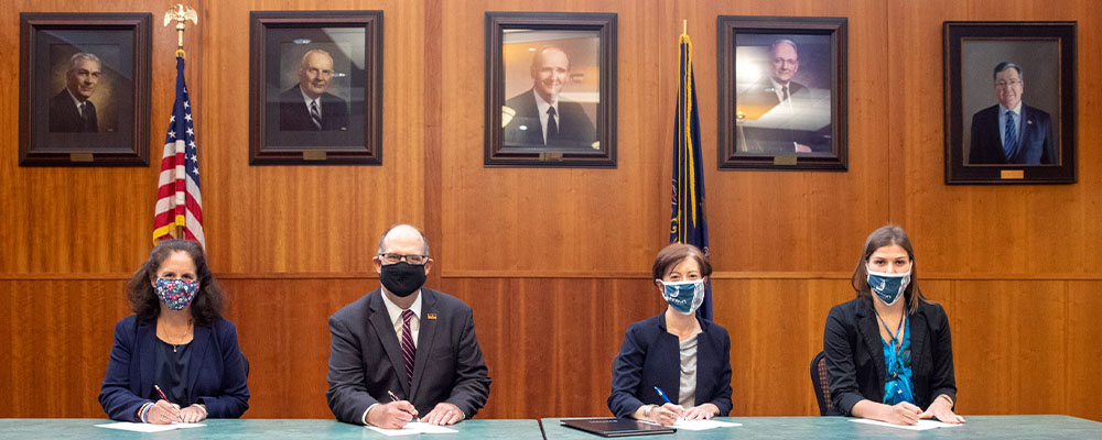 Johnson College and Kutztown University Sign Dual Admission Transfer Agreement for Information Technology Programs
