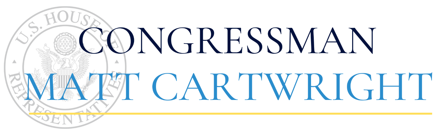 Congressman Cartwright to Host Virtual Meeting for NEPA PPE Suppliers Interested in Selling to the U.S. Department of Defense
