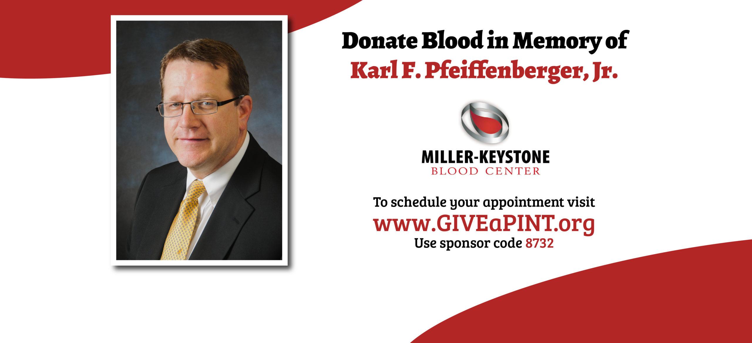 Miller-Keystone Blood Drive