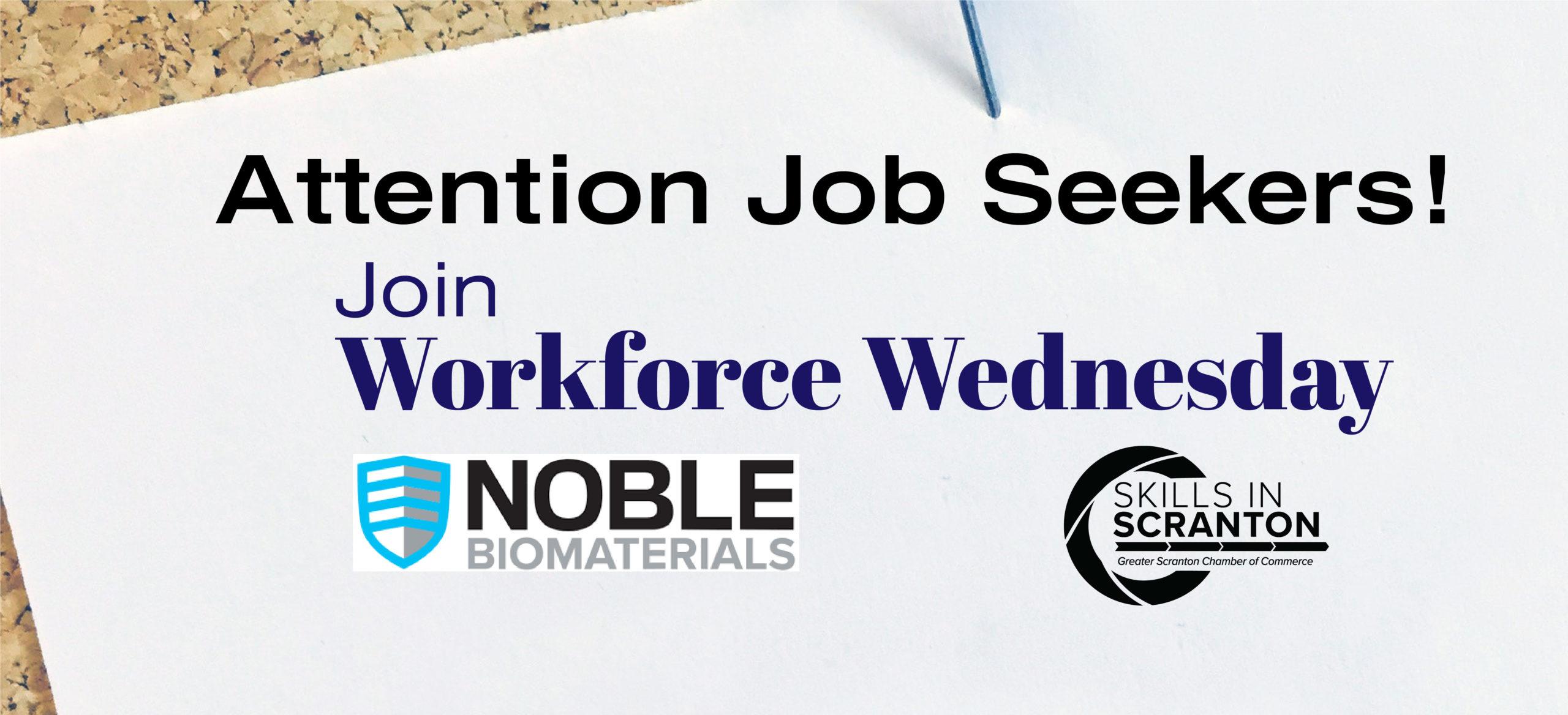 Workforce Wednesday: Noble Biomaterials