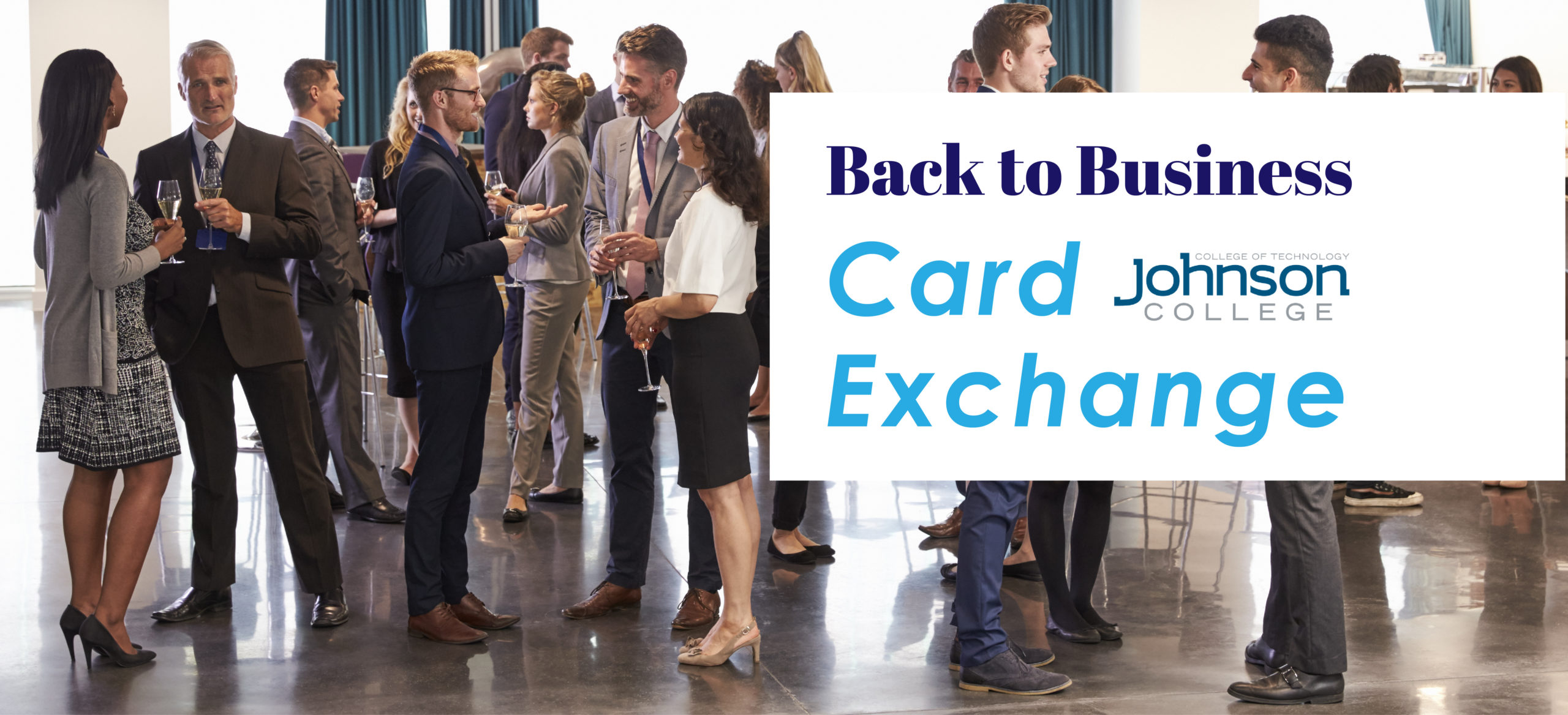 Back to Business Card Exchange at Johnson College