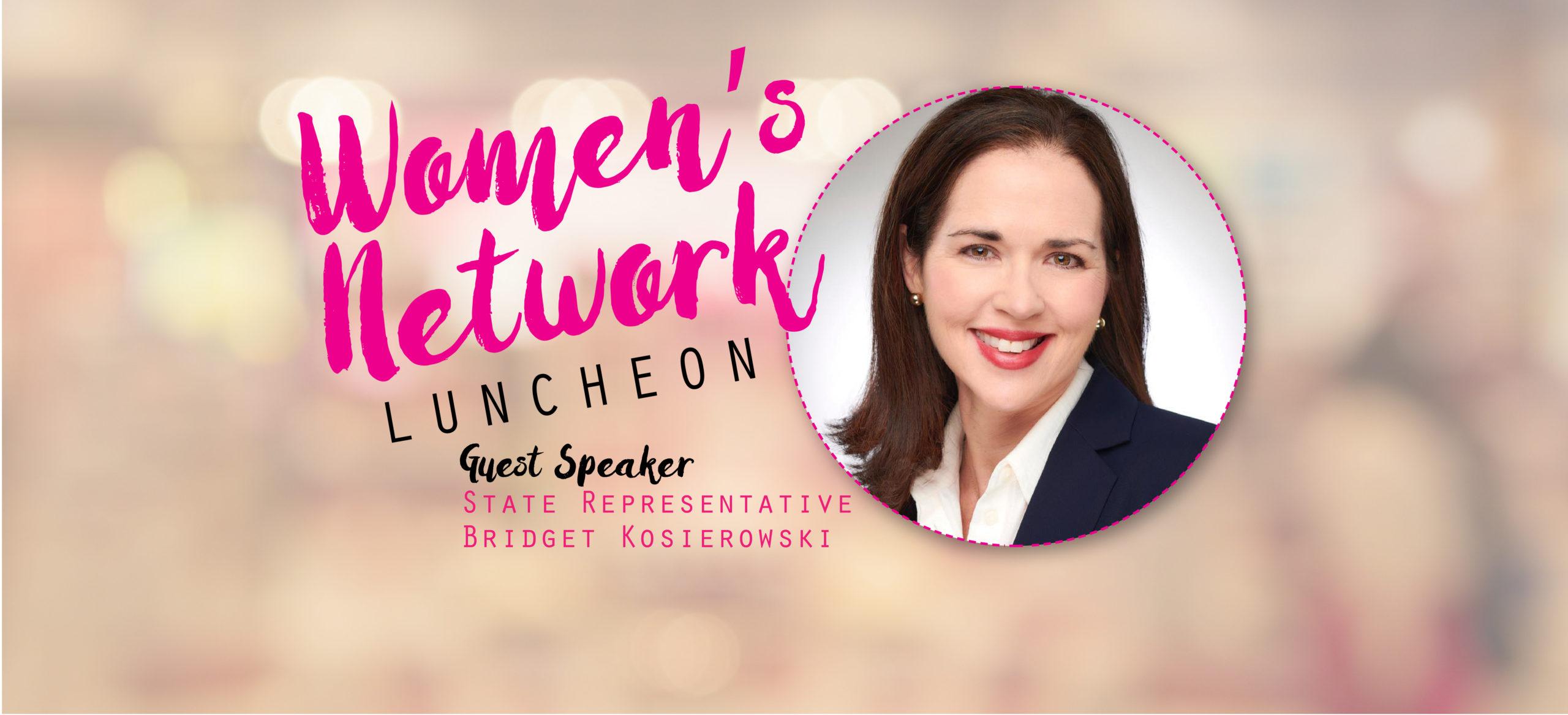 Women's Network Luncheon with State Representative Kosierowski