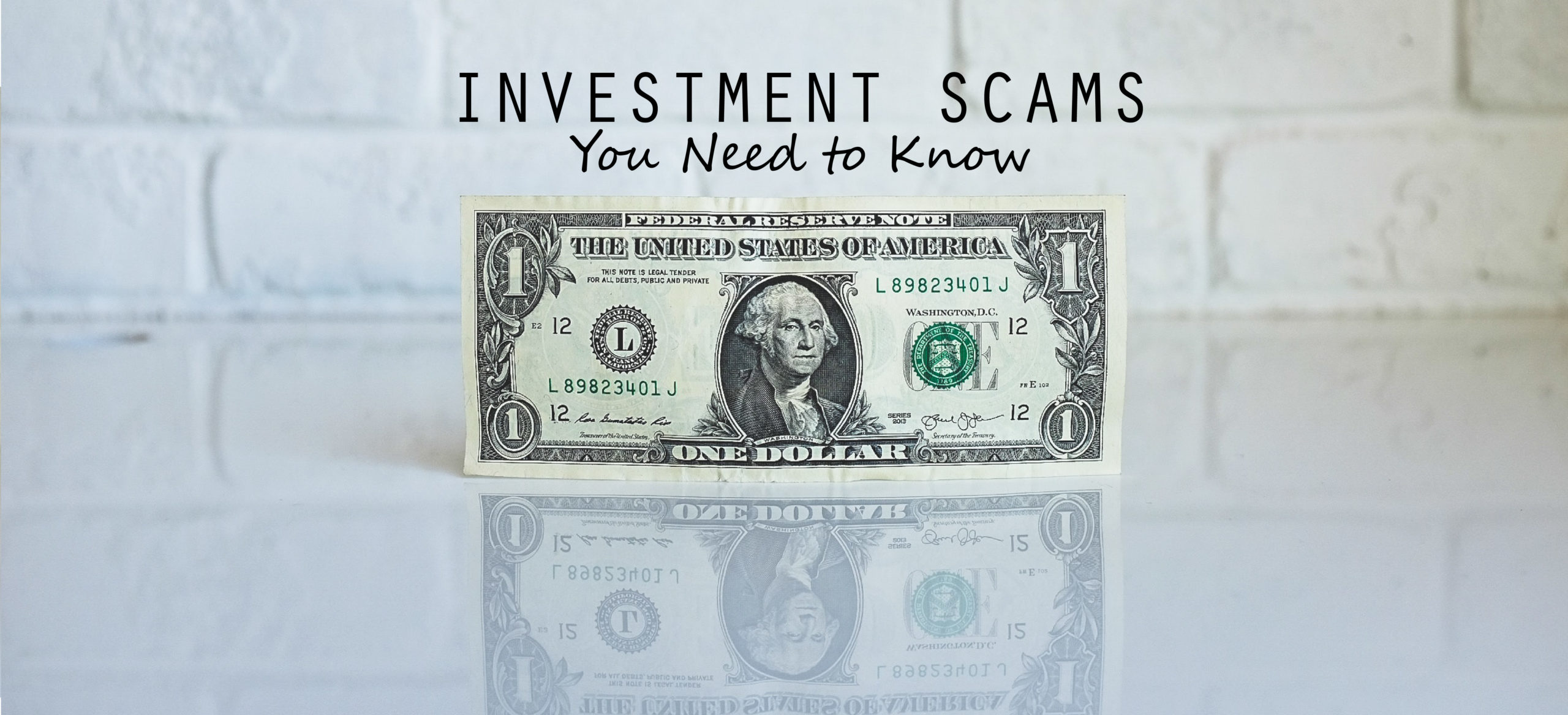 Investments Scams You Need to Know Webinar