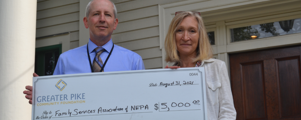 Greater Pike Community Foundation's Snyder Fund supports FSA's PA 211 Help Line