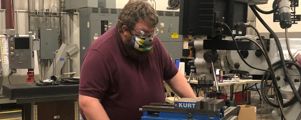 Johnson College Accepting Students for CNC Machining Training at Don's Machine Shop