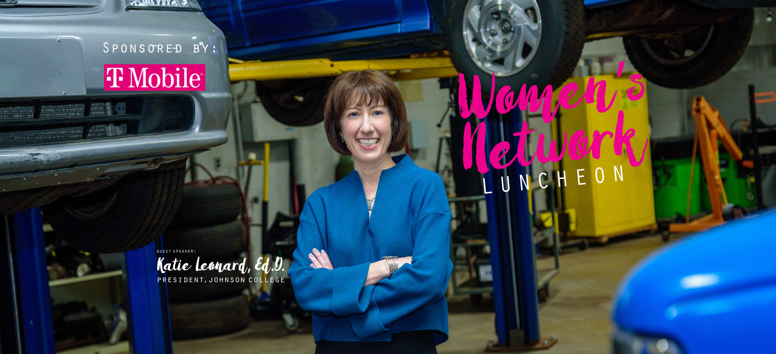 Women's Network Luncheon with Katie Leonard, Ed.D.