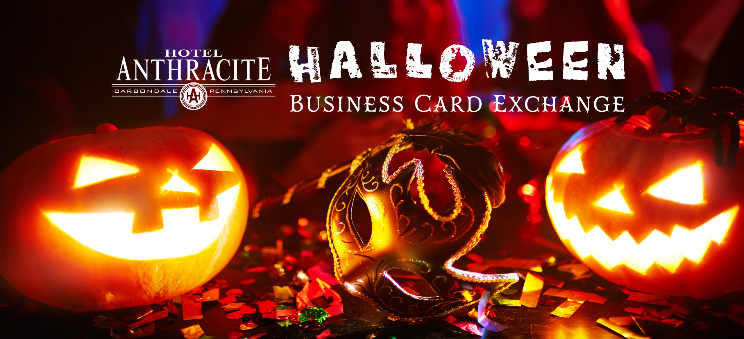 Halloween Business Card Exchange at Hotel Anthracite
