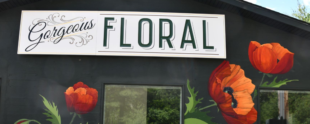 Gorgeous Floral Grand Opening Set for October 9