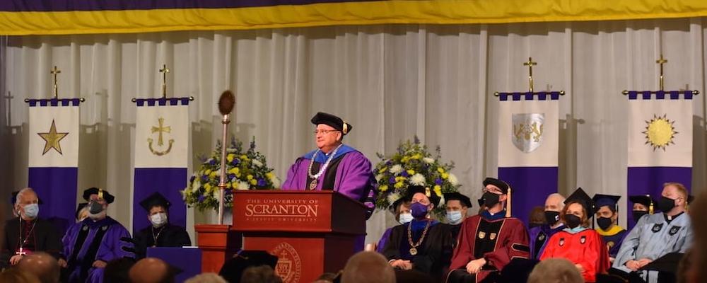 The University of Scranton Celebrates Inauguration of 29th President